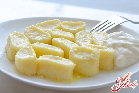 Рецепт ленивых вареников с творогом сладкие