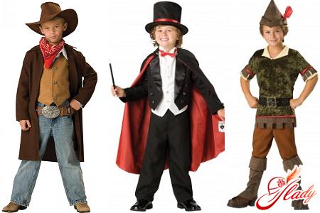 Как сделать новогодний костюм для мальчика своими руками фото