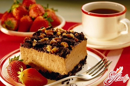 как приготовить бисквит для десерта с фруктами