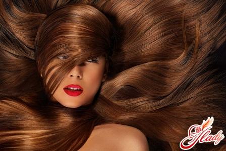 для блеска волос