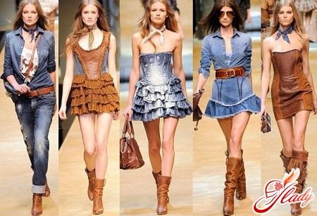 ковбойский стиль одежды