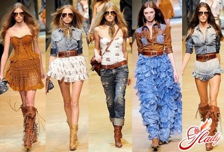 кантри стиль в одежде
