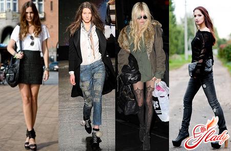 уличный рок стиль в одежде