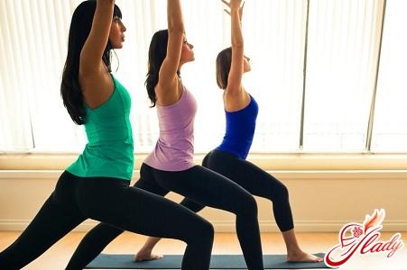 Упражнение йога