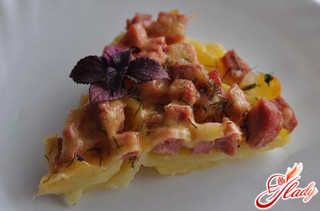 рецепт картофельной запеканки с сыром