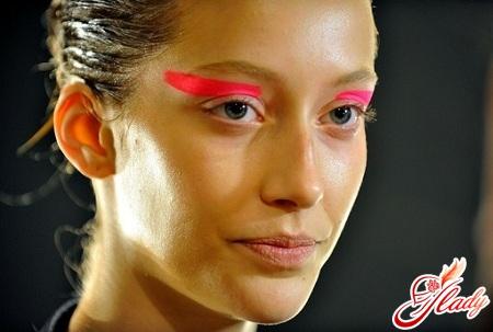 красивый креативный макияж