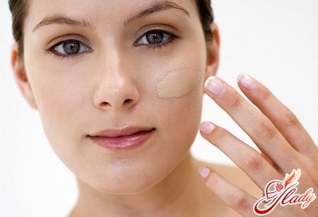 крем тональный для жирной кожи