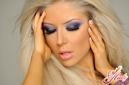 макияж глаз техника