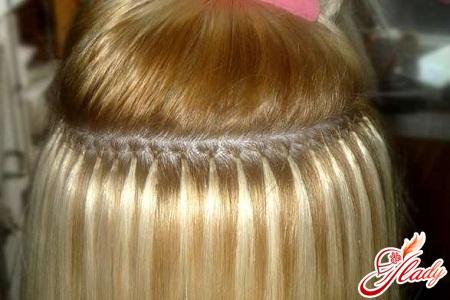 капсульное наращивание волос в