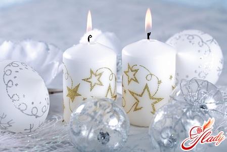 свечи своими руками к новому году