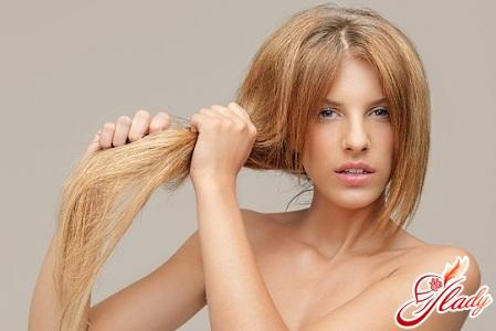 Сухие безжизненные выпадающие волосы