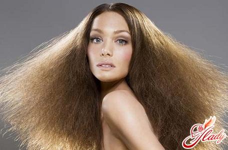 Концы волос сухие что делать