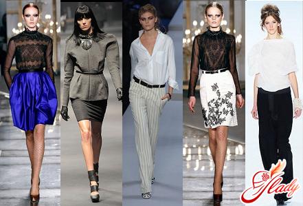 модный строгий стиль одежды