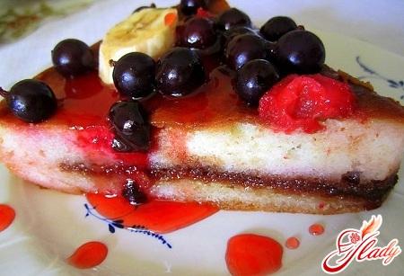 бисквитные коржи для торта рецепт