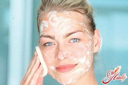 красивая чистая кожа лица