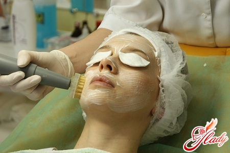броссаж чистка лица у косметолога