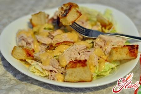 вкусный соус для салата цезарь с креветками