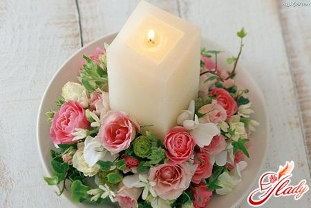 свадебная свеча своими руками