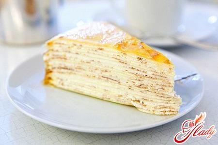 торт блинный крепвиль