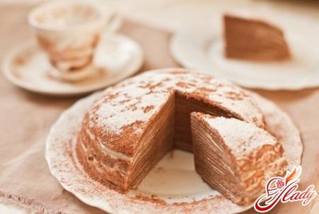 блинный торт рецепт с фото десерт
