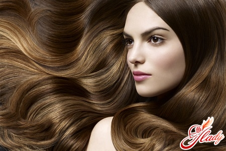 глазирование волос