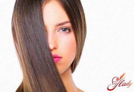цветное глазирование волос