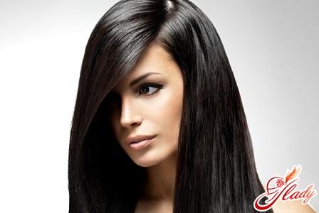 Краска для волос чёрный