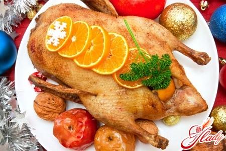 Утка с апельсинами рецепт