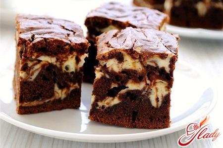вкусный шоколадно творожный торт