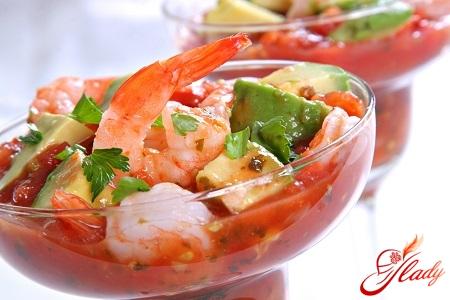 Соус для салата с креветками: сочная заправка за пять минут