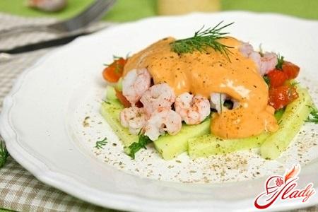 соус к салату с креветками