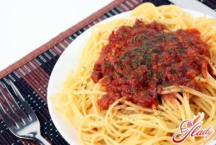 соус из томатов для спагетти