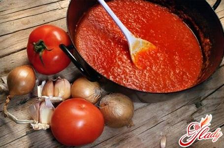 соус к спагетти из помидор