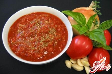 соус из помидор для спагетти