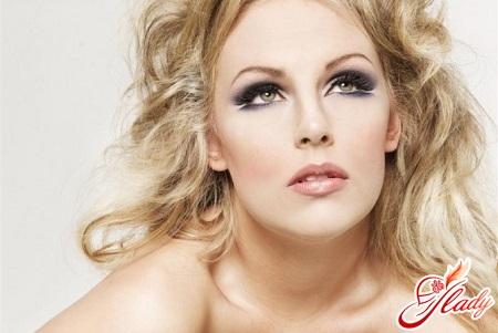 красивый свадебный макияж для блондинок