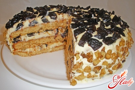 Торт с вареной сгущенкой фото рецепт