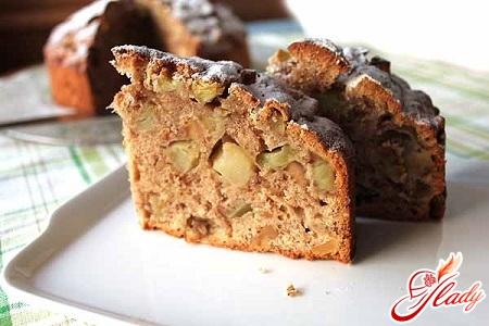Шоколадный торт с грецкими источник