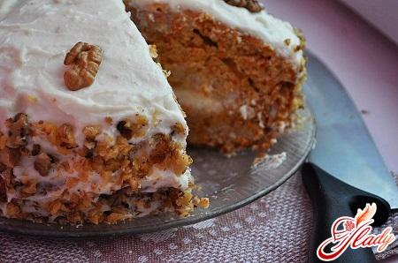 рецепт торта с грецкими орехами