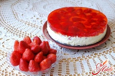 творожно желейный торт