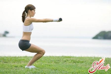 упражнения против целлюлита на ногах