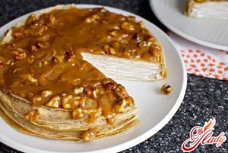 Крем для торта из блинов