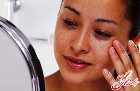 вывести пигментные пятна на лице