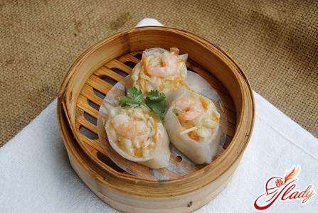 рецепт китайских пельменей