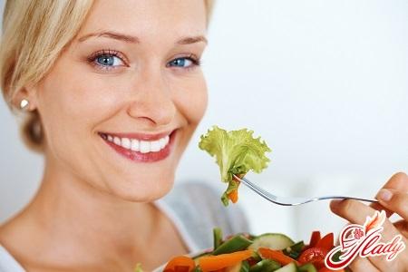 залог правильного питания