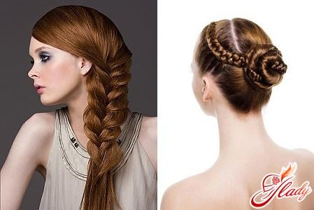 красивые прически плетение волос