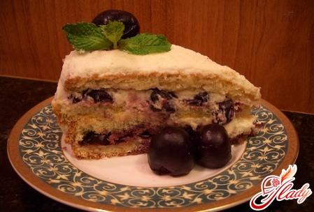 простой торт на сметане