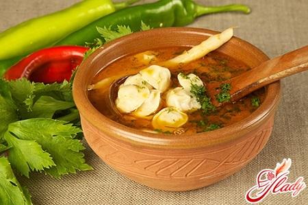 как приготовить суп с пельменями