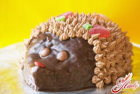 необычный торт из печенья рыбки