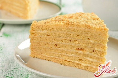 торт наполеон рецепт со сметаной