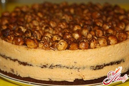 Торт с какао и сгущенкой рецепт пошагово